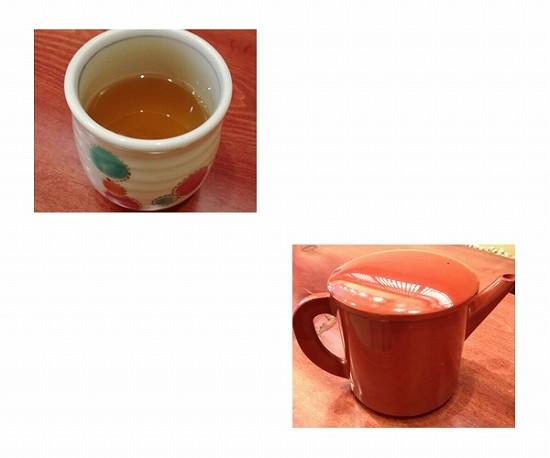 そば茶とそば湯