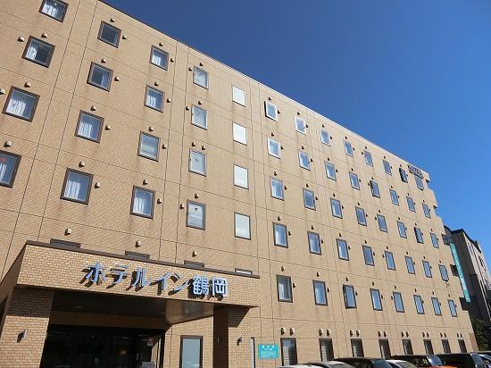 ホテルイン鶴岡外観