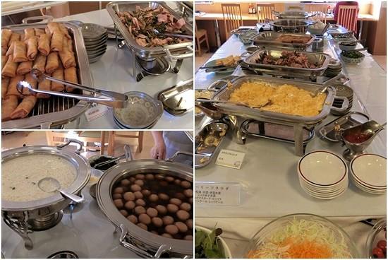 ホテルイン鶴岡朝食ビュッフェメイン