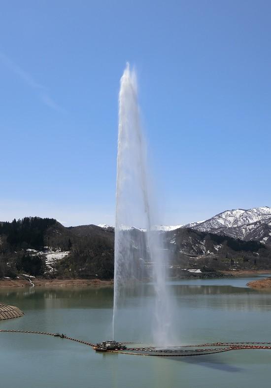 噴水フィナーレ