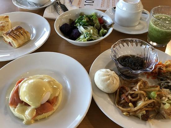 沖縄マリオット朝食