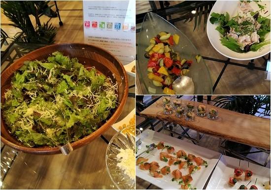 ルミアモーレ サラダと冷菜