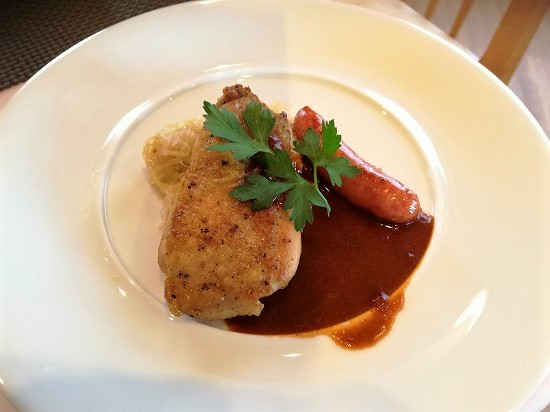 ルミアモーレ 鶏モモ肉のロースト