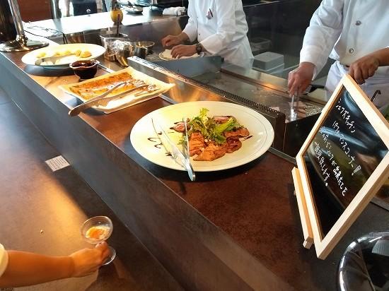 アパホテル横浜ベイタワー ランチビュッフェ ライブキッチン