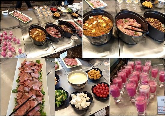アパホテル横浜ベイタワー ランチビュッフェ 冷惣菜