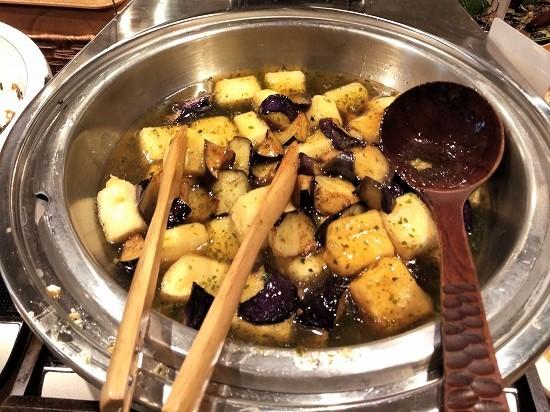 ハレの食卓 川崎 豆腐と茄子の揚げ出し