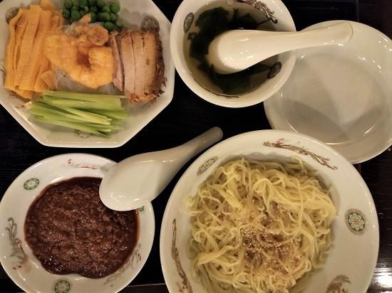 羽衣銀座本店炸醤麺