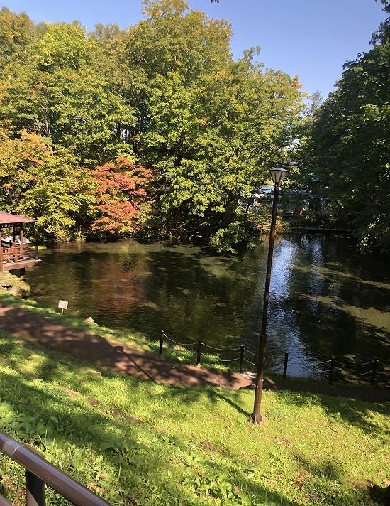 ふきだし公園池