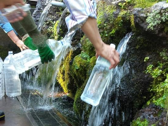 ふきだし公園湧き水