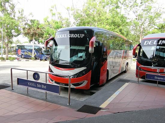 クアラルンプール行きバス