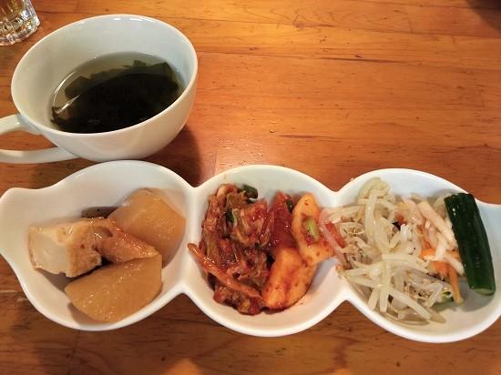 三好苑 川崎 ランチ 総菜とスープ
