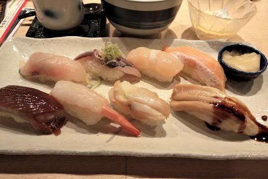 大乃寿司大和店 にぎり8貫