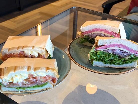 都シティ東京高輪ランチ サンドイッチ