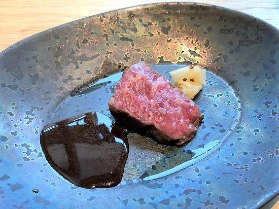 RISTORANTE & BAR E'VOLTA(リストランテ アンド バー エボルタ)ランチ 常陸牛の薪焼き