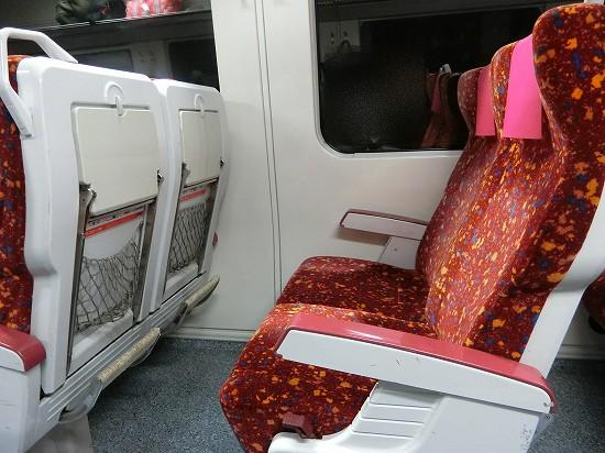 イポー電車座席