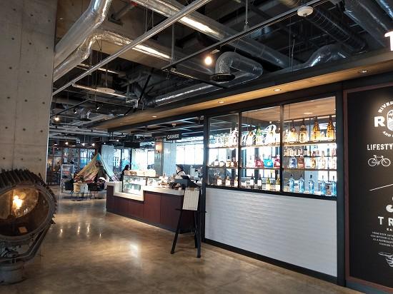 東急reiホテル 川崎 カフェ the warehouse
