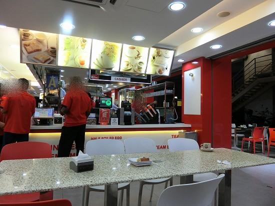 abc one bistro店内