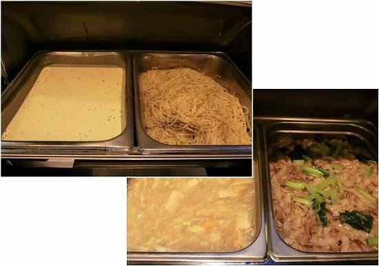 ザ ヘブン リゾート ホテル イポー オール スイーツ 朝食 カルボナーラとイポー麺