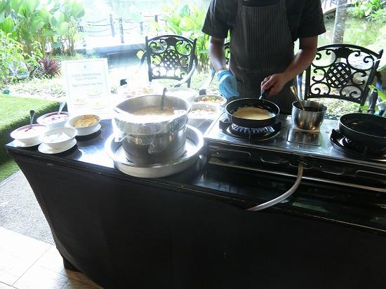 ザ ヘブン リゾート ホテル イポー オール スイーツ 朝食 卵料理