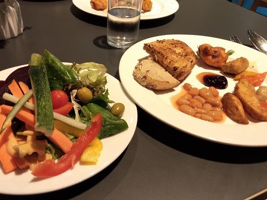ザ ヘブン リゾート ホテル イポー オール スイーツ 朝食 料理