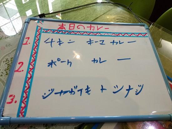 アムラパーリー鶴見本日のカレー3種
