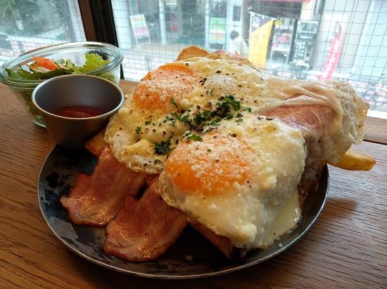 エッグベイビーカフェ エッグトーストランチ