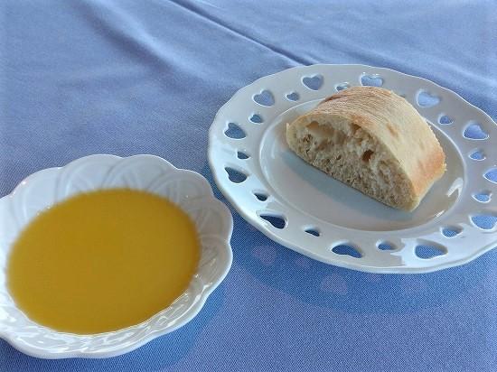 パンとオリーブオイル subzeroランチ