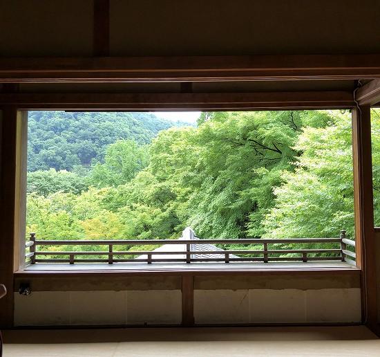 比叡山景色 瑠璃光院