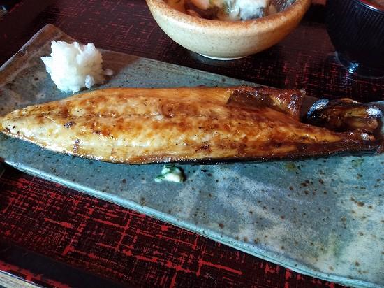 鯖塩焼き 鯖なのに大森