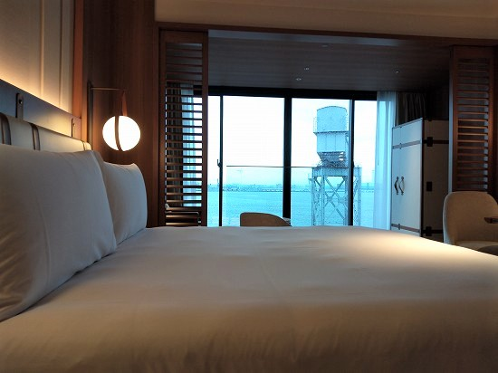 オーシャンビュールーム インターコンチネンタル横浜Pier 8
