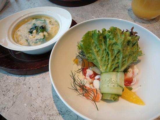 サラダとスープ ブランチ インターコンチネンタル横浜pier8