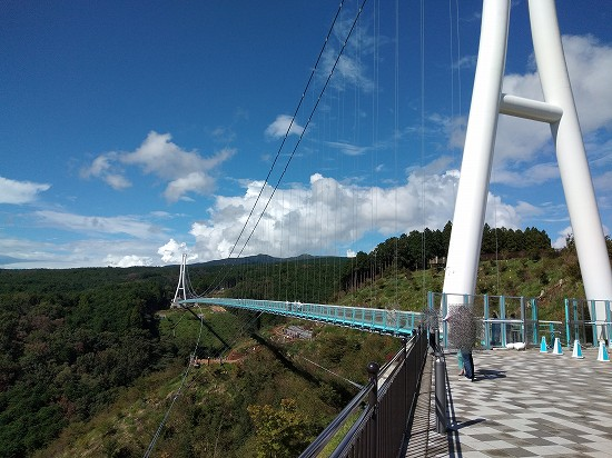 三島大吊橋全景