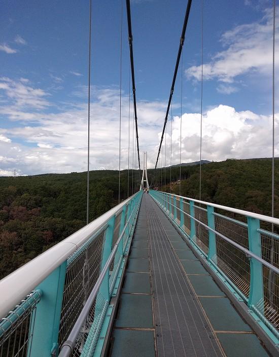 全長400m 三島大吊橋