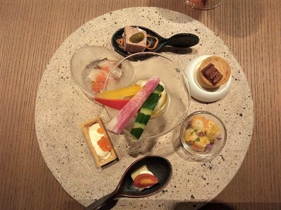 冷菜 カクテルタイム オードブル インターコンチネンタル横浜pier8