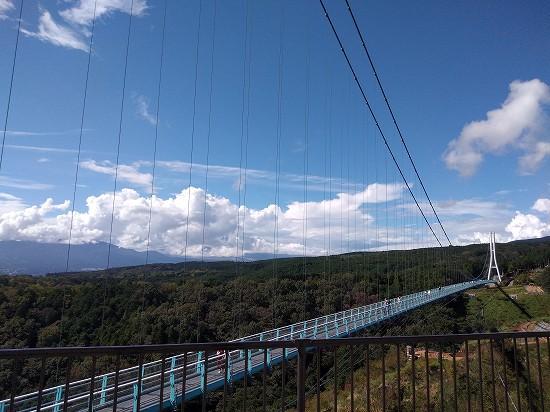 富士山方面 三島スカイウォーク