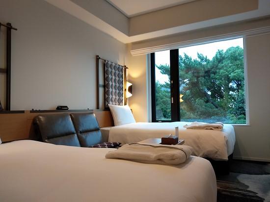 ツインベッドルーム 京都グランベルホテル