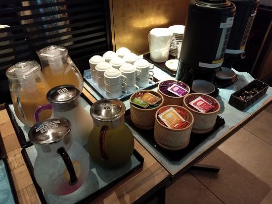 ドリンク 朝食 京都グランベルホテル