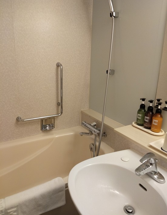 バスルーム 都ホテル京都八条