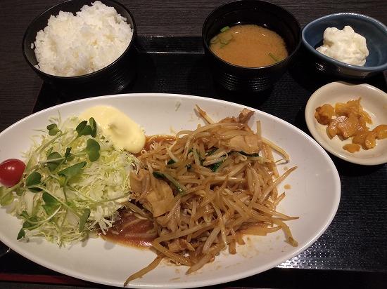 生姜焼き定食 北の味紀行と地酒 北海道ランチ