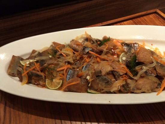 秋刀魚のエスカベッシュ ガーデンレストラン オールデイ ダイニング ランチビュッフェ