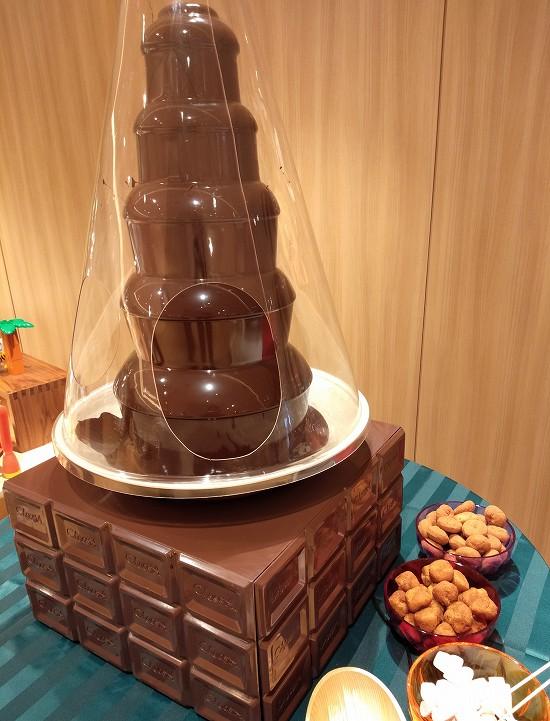 チョコレートファウンテン アンサンブル 潮見
