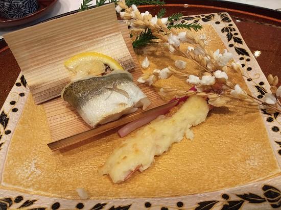 焼物 指宿白水館夕食