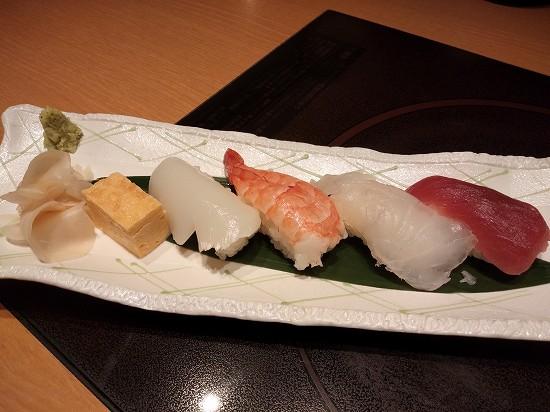 寿司 いろどりコース 木曾路