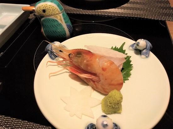 お造り 夕食 きんとうえん箱根
