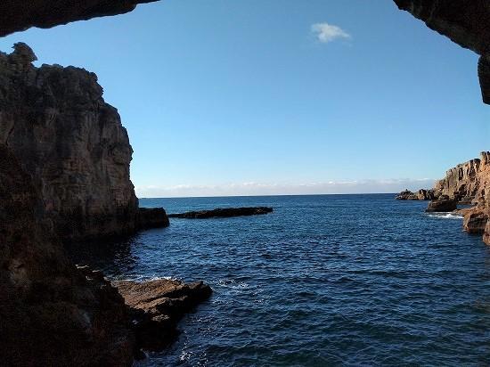 三段壁 洞窟入り口