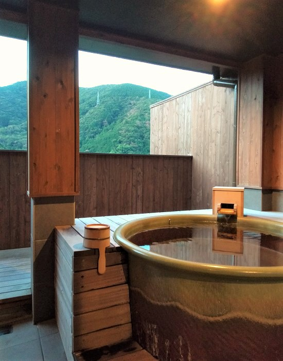 貸切風呂 きんとうえん箱根