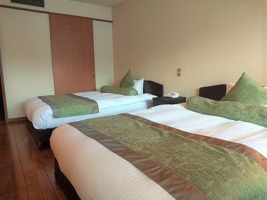 客室ベッド 夢いろは 熱海