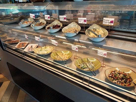 アロフト銀座ランチ 冷惣菜ビュッフェ