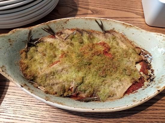 アロフト銀座ランチ 魚のトマトグリル