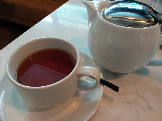 アロフト銀座紅茶